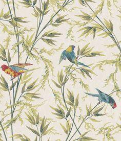Little Greene Great Ormond St Tropical Wallpaper main image