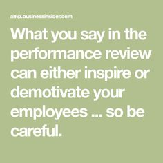 Performance Evaluation Phrases  Sample Performance Review
