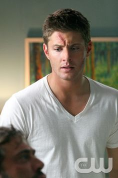 """""""In My Tiime of Dying"""" Jensen Ackles as Dean Winchester Supernatural Season 2, Supernatural Bloopers, Supernatural Tattoo, Jensen Ackles Supernatural, Supernatural Imagines, Supernatural Wallpaper, Supernatural Funny, John Winchester, Winchester Brothers"""