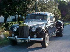 The creation of the Rolls Pickup Truck Mehr #rollsroycevintagecars