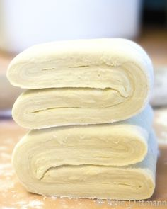 Homemade Puff Pastry Dough ~ It is SO easy!