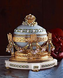 FABERGE-IMPERIAL-COLLECTION-CRADLE-EGG-authentic-new-in-box