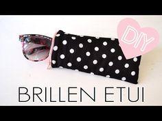 DIY Brillenetui nähen / kleines Täschchen mit Reißverschluss für Sonnenbrille selber machen | DIYmode