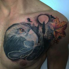awesome Top 100 eagle tattoos - http://4develop.com.ua/top-100-eagle-tattoos/