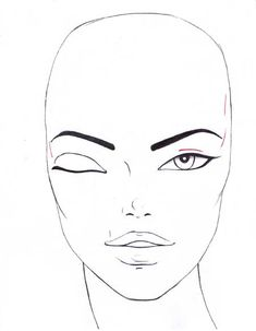 How to draw fashion eyes