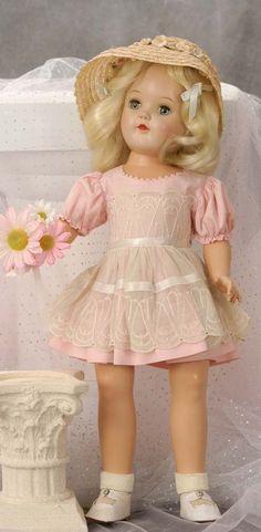 Beautiful vintage Toni doll.