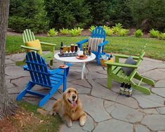 Recycled Plastic Adirondack Chairs, Polywood Adirondack Chairs, Adirondack Chairs For Sale, Rustic Outdoor Furniture, Outdoor Chairs, Antique Furniture, Distressed Furniture, Wooden Furniture, Small Apartments