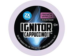 Ignitor French Vanilla Cappuccino Keurig KCup - the Caffeine K-Cups) - Kitchen Appliances Lists Products French Vanilla Cappuccino, Coffee K Cups, Coffee Drinks, Double Espresso, Italian Coffee, Keurig, Caffeine, Gourmet Recipes