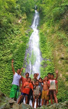 """Philippines - Undiscovered. BBC Boracay says: """" In love with unspoiled waterfalls. Here in Aklan Province on Panay Island, Philippines."""""""