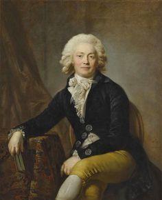 Portrait de Comte Christophe Urbanowski par Anton Graff (1791)