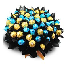 Milk Baci and Ferrero box    Milk Baci and Ferrero box is filled with an assortment of 30 milk chocolate Baci's  and 30 Ferrero Rocher chocolates.