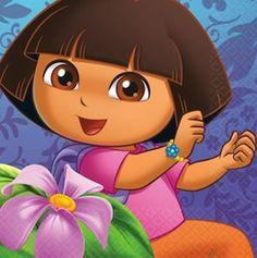 Dora the Explorer paper napkins