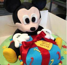 3D Mickey Mouse Cake - Darwen Deli Cakes