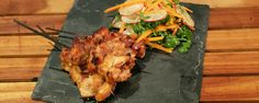 Chicken Yakitori  ~ Clinton Kelly The Chew  YUM!  Boneless skinless chicken thighs grilled or broiled.