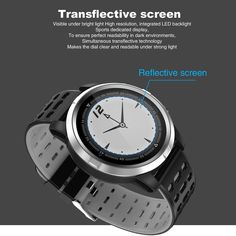 N105 IP68 Waterproof Smartwatch for iPhone Samsung Huawei - US$52.48 Sales Online gray - Tomtop Smartwatch, Apple Technology, Ios Phone, Monitor, Bluetooth, Outdoor Workouts, Android, Fitness Tracker, Tech Accessories