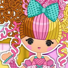 Lalaloopsy Girls Scoops Waffle Cone Dress Up Game