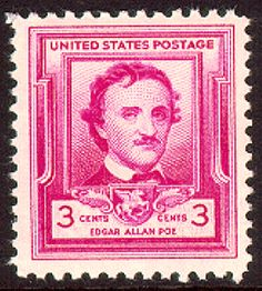 Edgar Allen Poe was an international influence on literature. Among his best-known short stories is The Murders in the Rue Morgue. His poems include The Raven and The Bells. His first book of poems was published in 1827. He continued writing until his untimely death in 1849.