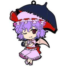 Nendoroid Plus Rubber Straps: Touhou Project - Remilia Scarlet ver.2