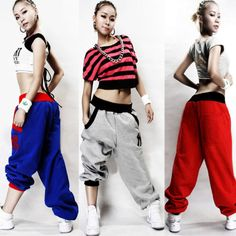 Hot Mens Women Hip Hop Dance Harem Baggy Sport Casual Sweatpants Trousers Pants