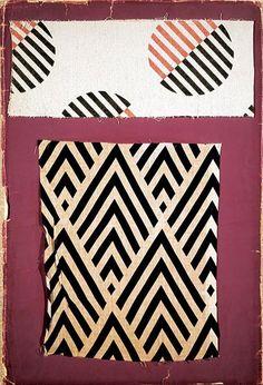 ffactory:  Lyubov Popova, fabric samples (1923–4)