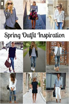 Spring Capsule Wardrobe Inspiration. Looking for outfit ideas for your spring capsule wardrobe? Click through to see my current outfit inspiration