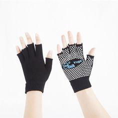 Yhao Brand Non-slip Good Grip Women Pilates Gloves Set For Men Toeless Anti-slip Yoga Gloves Cotton