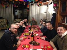 Capodanno with friends and new friends in Mestre