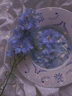 Light Blue Aesthetic, Lavender Aesthetic, Blue Aesthetic Pastel, Aesthetic Pastel Wallpaper, Aesthetic Colors, Flower Aesthetic, Aesthetic Images, Aesthetic Collage, Pink Wallpaper