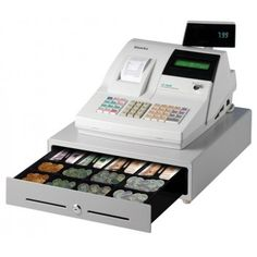 Buy best SAM4S ER380 Cash Register with Single Station Thermal Printer & Single Line Numeric Display in Just Price:$445.00 at Onlypos.com.au