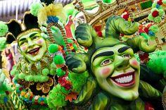 Party at Rio de Janeiro's Carnaval!