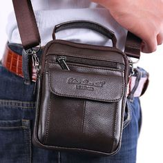 Cheap tote handbag, Buy Quality purse handbag directly from China cross body bags Suppliers: Men's Cowhide Genuine Leather Messenger Shoulder Cross Body Bag Pouch Waist Fanny Belt Hip Bum Male Tote HandBag Purse Handbags Mochila Tote, Tote Handbags, Purses And Handbags, Belt Purse, Belt Bags, Tote Backpack, Messenger Bags, Nylon Tote, Shopper