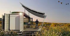 G-Pod: Um container que se transforma em residência