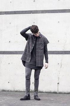 More looks by BBP: http://lb.nu/blackboyplace  #bbp #blackboyplace #streetwear #trousers #flannel #shirt