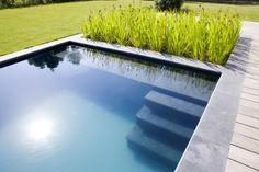 AQUA ART ~ Natural Swimming Ponds and Biobats - # Natural . - Pool/Schwimmteich im Garten - Garten Natural Swimming Ponds, Swimming Pools, Pergola, Aqua, Backyard House, Pool Houses, Pool Designs, Water Garden, Water Features