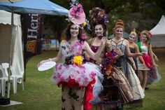 Culture to Couture Space at the Flower Food and Wine Festival