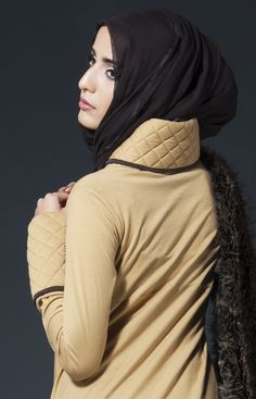 Winter Warmers Camel Abaya #AabCollection #Whatsnew #Winter #Warmth #Fashion