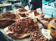 Weekend market...delicious truffles, London ,UK