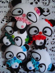 Panda cookies; aoii