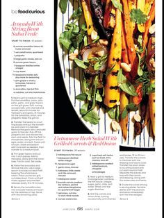 """Why You'll Want to Grill Your Produce"" from Shape, June 2018. Read it on the Texture app-unlimited access to 200+ top magazines."