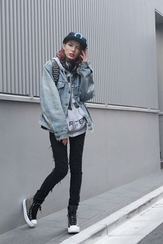 ストリートスナップ [ケリーアン] | CHEAP MONDAY, GIZA, iiJin, Levi's® | 原宿 | Fashionsnap.com