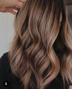 Bayalage Ideas hair goals ombre balayage light browns 5 Important Tips On How To Build A P Brown Hair Balayage, Balayage Brunette, Balayage Highlights, Blonde Highlights On Dark Hair Brunettes, Bayalage Light Brown Hair, Light Brown Ombre Hair, Soft Balayage, Hair Styles With Highlights, Light Medium Brown Hair
