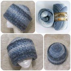 Шапка от мастера handmade mama Crochet Shrug Pattern, Crochet Tunic, Crochet Yarn, Crochet Clothes, Crochet Patterns, Crochet Beanie Hat, Knitted Hats, Making Scarves, Crochet Designs