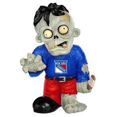 New York Rangers NHL Zombie Figurine