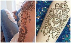 Tatuajes de henna negra