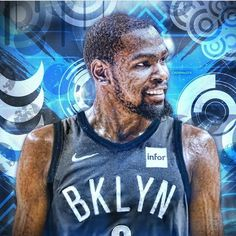 Basketball Legends, Nba Basketball, Brooklyn's Finest, Nba Wallpapers, Brooklyn Nets, Kevin Durant, Nba Players, Kobe, Division