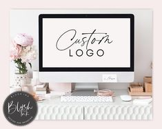 Hairdresser Logo, Skincare Logo, Makeup Artist Logo, Beauty Salon Logo, Instagram Post Template, Watercolor Logo, Custom Logo Design, Business Card Design, Branding Design
