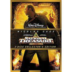 National Treasure - 2-Disc Set   Adventure   Disney Store  $19.95