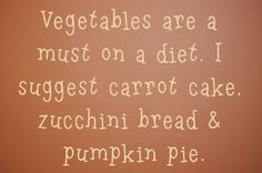 Vegetables are a must on a diet   by SimplySilhouetteDesigns
