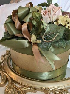 DECORATIVE HAT BOX Bridal Shower Centerpiece Bridal Shower | Etsy