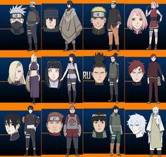 Naruto - The Last color designs